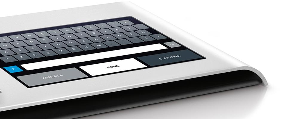 Tastiera touch upgrade